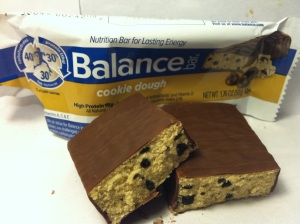 Balance Bar Cookie Dough Close